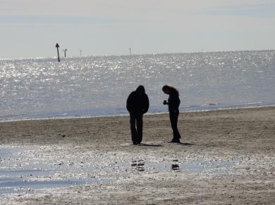 A quiet moment. Low tide at Cedar Key.