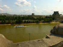 Looking north from the Musée d'Orsay