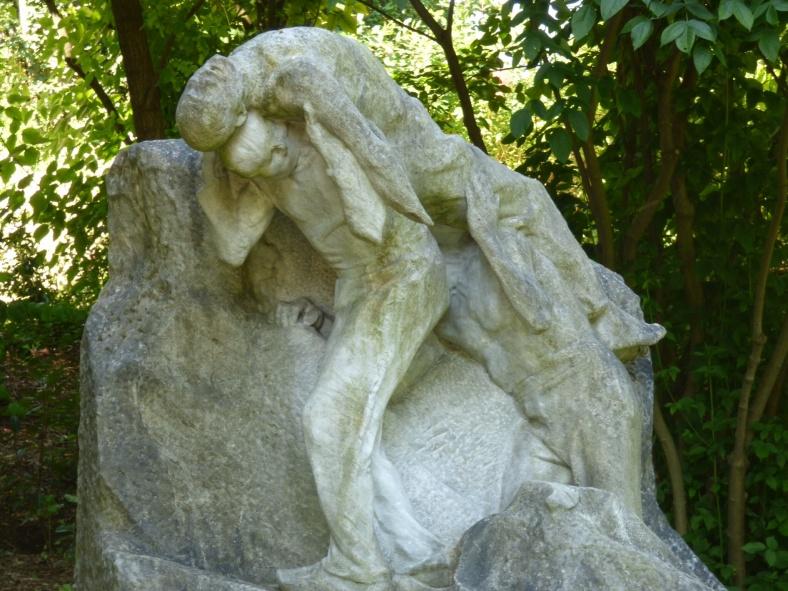 L'accident de carrière (1906), Henri Bouchard (1875-1960), Marbre
