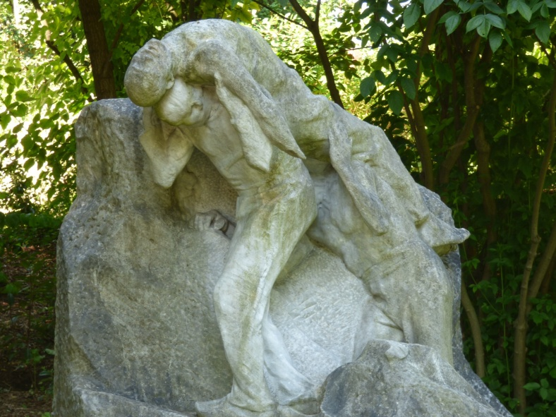 L'accident de carrière (1906), Henri Bouchard (1875-1960), Marbre
